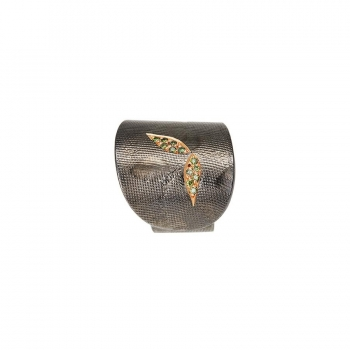"Ring ""Billy Chevalier"" Silver 925 With Diamonds"