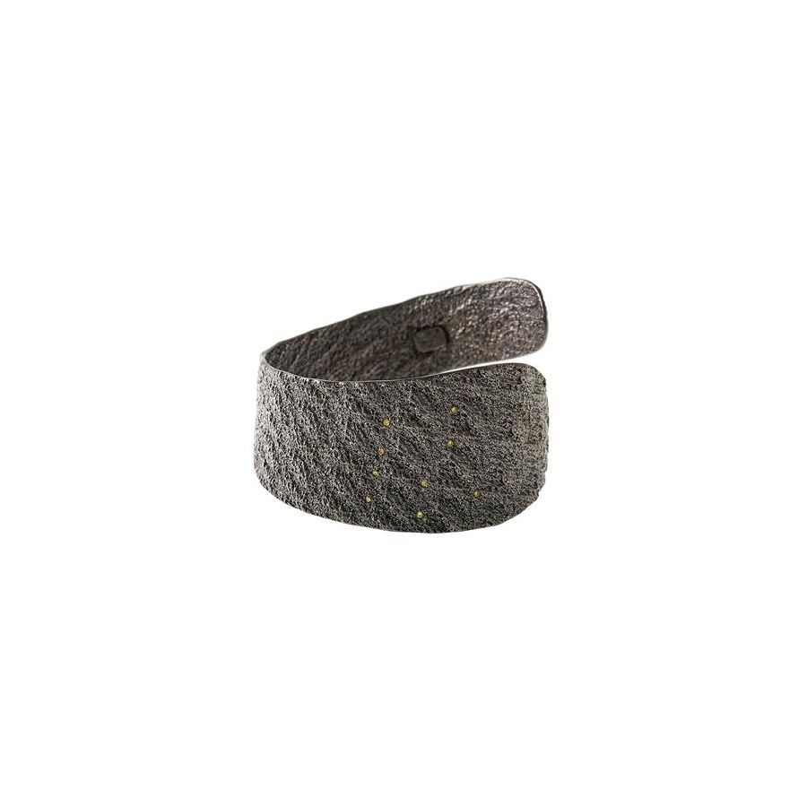 "Silver Cuff ""FAITH"" With Diamonds"